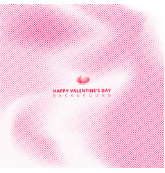 abstract pink halftone on white background with vector image