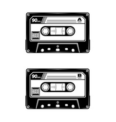 audio tape 0001 vector image
