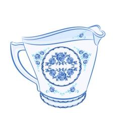 Milk-jug-faience vector