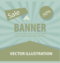 Sale banner big sale banner template design sale vector