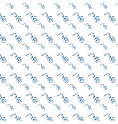 saxophone music instrument background vector image