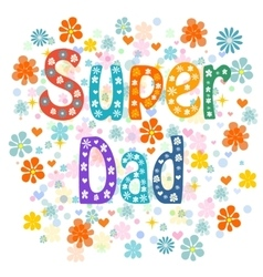 Super Fathers vector
