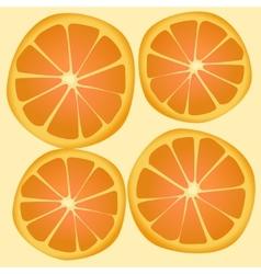 Texture orange vector
