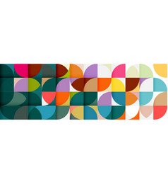 abstract geometric pattern stripe with a variety vector image vector image