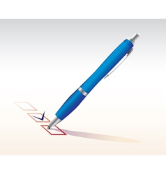 Test answers vector image vector image