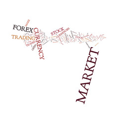 forex market vs stock market which is right for vector image