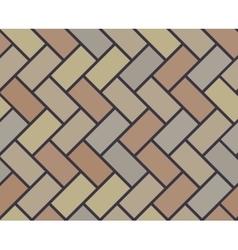 Wooden floor tile seamless pattern vector image