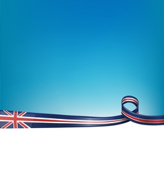 Background with england flag vector
