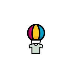 Balloon ink logo vector