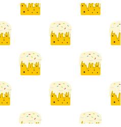 Easter cake pattern seamless vector