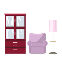 furniture for living room vector image