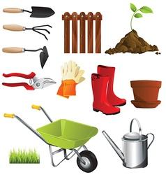 Gardening gear vector