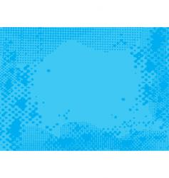 Halftone blue vector