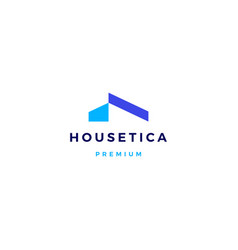House home mortgage roof architect logo icon vector
