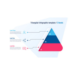 Infographic template in shape of vector