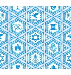 Israel design seamless vector