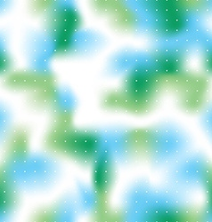 Seamless bright green and blue background vector image