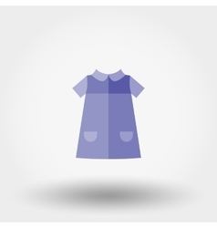 Baby Dress Icon vector image vector image