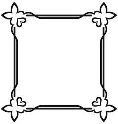 Blank frames vector image vector image