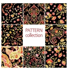 Paisley indian or turkish persian seamless pattern vector