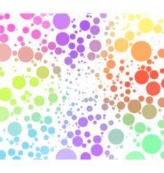 abstract background of circles vector image