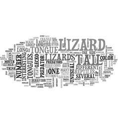 A lizards eye view of life as a reptile text word vector