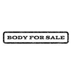 Body for sale watermark stamp vector