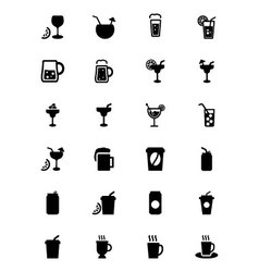 Drinks Icons 2 vector image