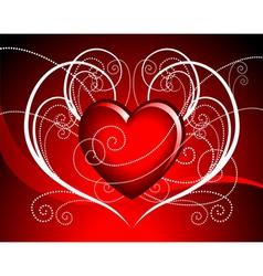 hearth illustration vector image