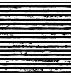 irregular black striped pattern seamless hand vector image