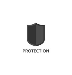 isolated shield icon vector image
