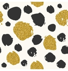 Trendy spot color seamless pattern vector image