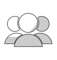 Users group icon image vector