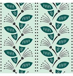 Flower Decoration Pattern 5 vector image vector image