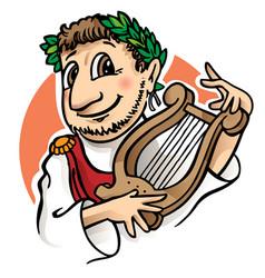 Roman man vector image vector image