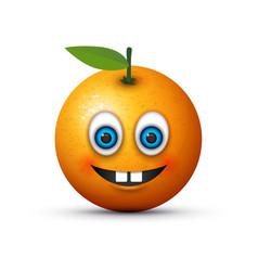 buck teeth emoji vector image