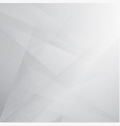 Abstract triangles overlay white and gray color vector