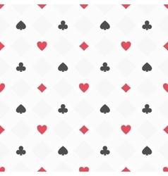 Casino seamless pattern vector