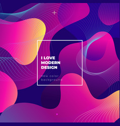 Color gradient background design abstract vector