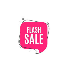 Flash sale special offer price sign vector