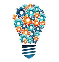 Industrial innovation concept vector