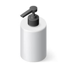 Liquid soap isometric vector image vector image