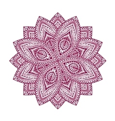 Mandala decorative floral pattern vector