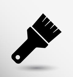 Paint Brush Icon button logo symbol concept vector
