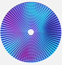 Radial abstract background in blue purple tones vector