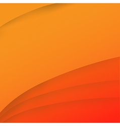 Abstract wave orange background 001 vector image