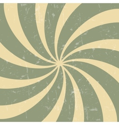 Retro vintage grunge hypnotic background vector image