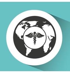 Symbol medicine health icon vector