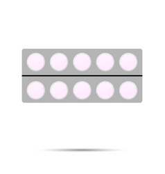 pack of tablets vector image