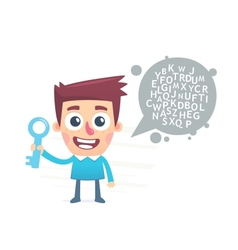 Very strong password vector image vector image